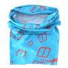 OEM 생성은 로고에 의하여 인쇄된 폴리에스테 Microfiber UV 보호 관 Headscarf를 주문을 받아서 만들었다