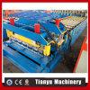 Roulis de tuile de toit en métal de matériaux de construction de structure métallique formant la machine