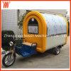 Carro móvil de la venta del alimento del triciclo
