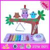 2016 giocattoli musicali di legno all'ingrosso per i bambini, nuovi giocattoli musicali di legno per i bambini, migliori giocattoli musicali di legno per i bambini W07A105