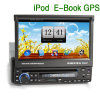 7 polegadas 1 DIN HD Auto Stereo Radio Navi TV DVD Player (ERISIN ES618G)