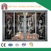Portelli scorrevoli di alluminio del rivestimento della polvere di economia