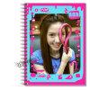 El bloc de notas,Loose-Leaf,libro Cuaderno de espiral (WC-A089)