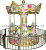 Mini Amusement Park Rides Carousel Merry vont Round pour Playground