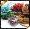 Secuencia de cuero, cuerda de cuero verdadera del alambre caliente de la joyería, joyería de cuero verdadera (RF049)