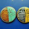 금속 주석 기장, 사랑스러운 접어젖힌 옷깃 Pin (GZHY-TB-010)