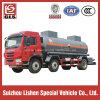 Caminhão-tanque de armazenamento de ácido Tri Axle 20000L com 2 compartimentos