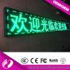 Sinal de LED Monocromático Verde P10 da venda quente da Rússia