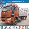 FAW 8X4 camion du réservoir de carburant pour le transport du pétrole