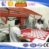 Prensa hidráulica de la pista del recorrido del CNC con el sistema automático de la jerarquización