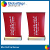 Bureau de promotion de l'aluminium A4taille mini Roll up Banner