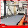 Passaggio automatico attraverso tipo macchina di granigliatura del piatto d'acciaio e riga di pittura