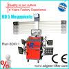 Máquina caliente del alineador de la rueda de la venta 3D 4