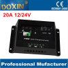 Het ladende controlemechanisme van uitstekende kwaliteit 12V/24V 20A PWM Solar Charger Controller van het Zonnepaneel