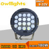9inch 180W High Intensity 크리 말 LED Round LED Driving Light