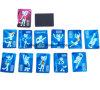 Magnete di carta del frigorifero del fumetto di promozione per i capretti