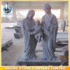 Statua intagliata mano santa della scultura della famiglia del granito