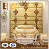 Mur décoratif de salon glissant le panneau de mur mou en cuir respectueux de l'environnement de PU/PVC