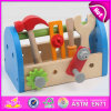 Резцовая коробка Toy 2015 новая Wooden, Toy Tool для Children, Educational Toy Tool для Baby, Pretend Play Toy Set W03D063 Kids