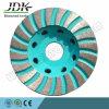 100mm 다이아몬드 화강암을%s 가는 컵 바퀴