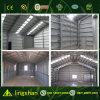 Estructura de acero galvanizada gris blanca para el garage