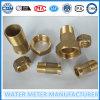 Conexión macho y material de latón Medidor de agua