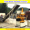 Red Soli Brick Machine / machine automatique de fabrication de blocs d'argile