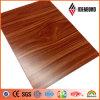 Деревянная алюминиевая составная панель (AE-308)