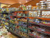 Exposición Pop para mostrar el precio de Rack de acero Super Market