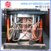 Steel Enclosure Big Capacity Medium Frequency Induction Melting Furnace
