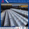 Tubo soldado espiral de las aguas residuales del tubo de acero del API 5L SSAW