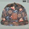 La alta calidad más nueva del diseño y sombrero y casquillo planos de encargo baratos del Snapback del borde de Hip Hop