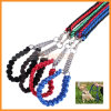 Medium와 Large Dogs를 위한 Solid Hand Crafted Leash를 가진 Dog Braided Collar