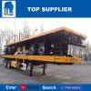 Véhicule de titan - 2 d'essieu de conteneur remorques semi 40 pieds de conteneur de remorque de camion fabriquée en Chine