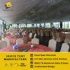 1000명의 사람들에 의하여 활 모양으로 하는 큰천막 당 결혼식 천막