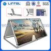 Aluminium Outdoor Pop omhoog een Frame Banner Stand (Lt.-23)