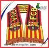 熱い販売のアクリルのフットボールのファンのスカーフ、フットボールのスカーフ、FCバルセロナ