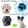 방수와 3G WCDMA (V40)를 가진 반대로 분실된 애완 동물 GPS
