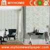 La formation de mousse 3D de luxe de papier peint pour la décoration d'accueil