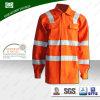 Пламя безопасности видимости En 20471 высокое - retardant куртка работы