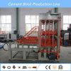 Chaîne de production complètement automatique machine de fabrication de brique de Qt6-15