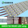 55-60lm/LED luz de tira rígida elevada 60LEDs/M do diodo emissor de luz do brilho SMD5630/5730