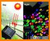 庭のためのカラーChanging Solar Lily Light
