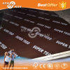 18мм тополь водонепроницаемый Phenolic фильм коричневого цвета, с которыми сталкивается производитель фанеры