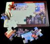 Encargo promocional de cartón Jigsaw