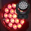 Bewegliche Hauptsummen-Leuchte LED-RGBW