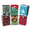 Petits sacs en gros de cadeau de papier d'imprimerie de Noël