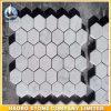 Шестиугольник форм гранита и мрамора плитки мозаики