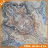 Azulejo de suelo de cerámica brillante decorativo del estilo europeo del material de construcción