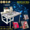 Holiauma grosse Größen-mögen einzelne flache Schutzkappen-Kleid-Shirt-Stickerei-Hauptmaschine Tajiama System